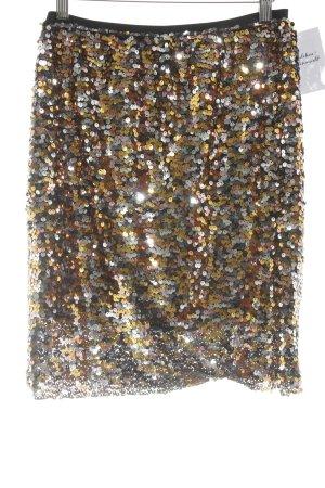 Vero Moda Minirock silberfarben-goldfarben extravaganter Stil
