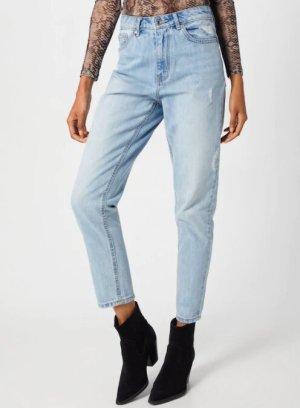 Vero Moda Mom Ankle Jeans in hellblau