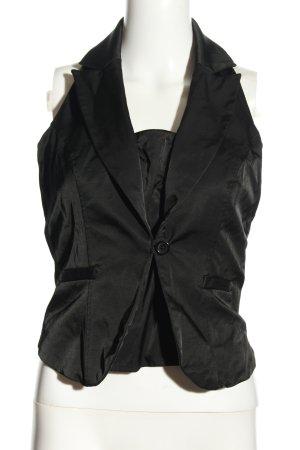 Vero Moda Haltertop zwart casual uitstraling