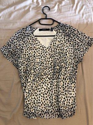 Vero Moda Koszulka z dekoltem w kształcie litery V Wielokolorowy