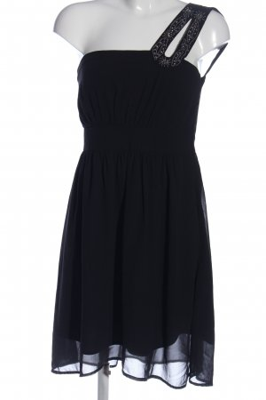 Vero Moda One-Shoulder-Kleid schwarz Elegant