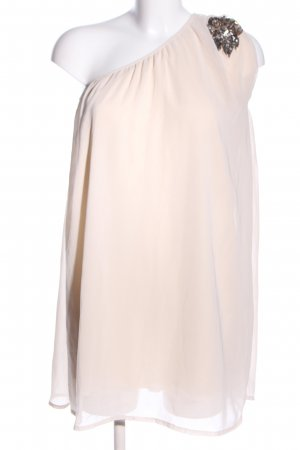 Vero Moda One Shoulder Dress cream elegant