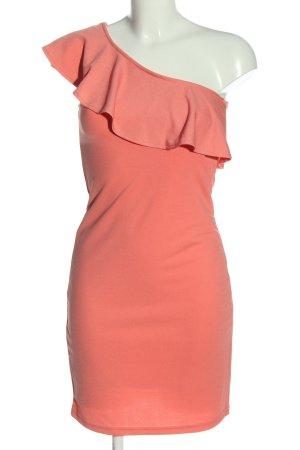 Vero Moda Sukienka na jedno ramię czerwony Elegancki