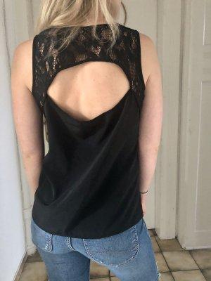 Vero Moda Kanten topje zwart Polyester