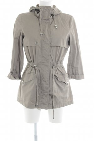 Vero Moda Outdoorjacke beige-silberfarben Street-Fashion-Look