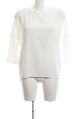 Vero Moda Oversized Bluse wollweiß Business-Look