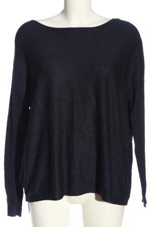 Vero Moda Sweter oversize czarny W stylu casual