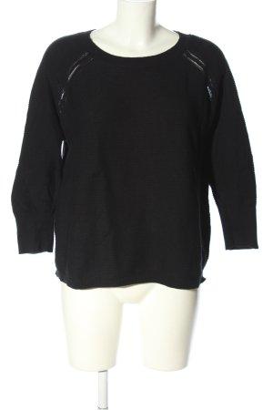 Vero Moda Oversized Pullover schwarz Casual-Look