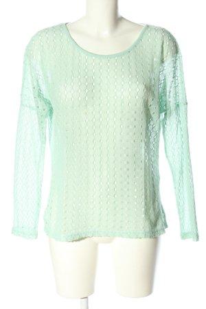 Vero Moda Oversized Pullover türkis Casual-Look