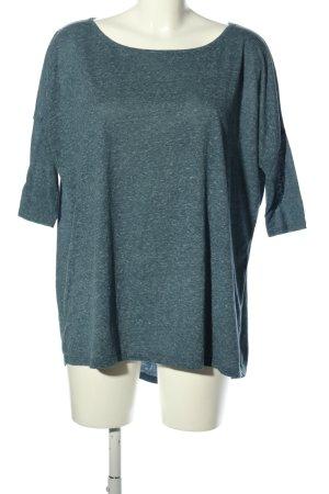 Vero Moda Oversized Shirt blau meliert Casual-Look