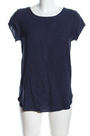 Vero Moda Oversized Shirt blau Casual-Look