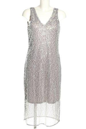 Vero Moda Sequin Dress silver-colored elegant