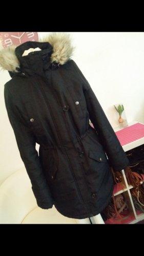 Vero Moda in Blue Chaqueta con capucha negro