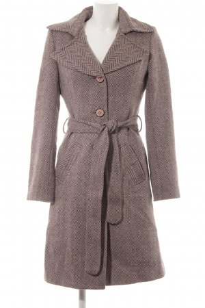 Vero Moda Pea Coat abstract pattern casual look