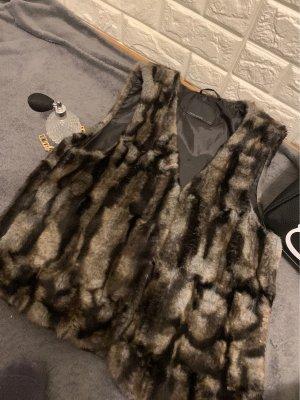 Vero Moda Fake Fur Jacket multicolored