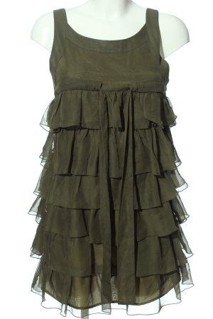 Vero Moda Petticoat Dress khaki casual look