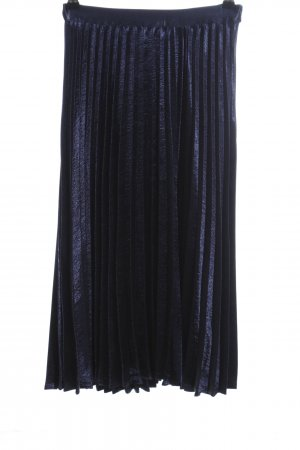 Vero Moda Pleated Skirt blue elegant