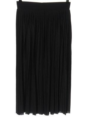 Vero Moda Falda plisada negro elegante