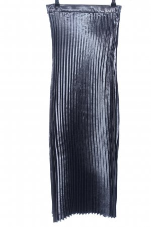 Vero Moda Pleated Skirt light grey elegant