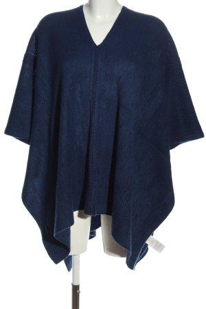 Vero Moda Poncho azul look casual