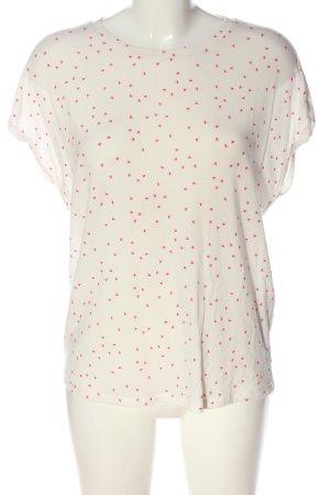 Vero Moda Shirt met print wolwit volledige print casual uitstraling