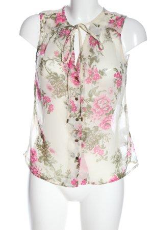 Vero Moda Print-Shirt Blumenmuster Casual-Look