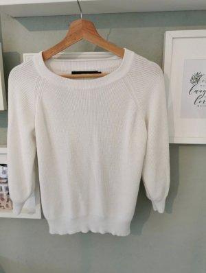 Vero Moda Pull en crochet blanc