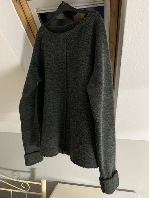 Vero Moda Wool Sweater anthracite