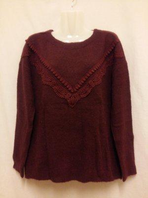 Vero Moda Pullover Gr. S / M Bordeauxrot