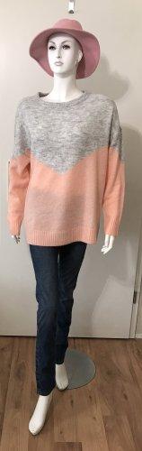 Vero Moda Pullover L grau rose