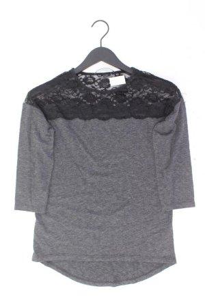 Vero Moda Pullover mit Spitzenbesatz  Größe XS grau