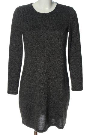 Vero Moda Sweater Dress light grey flecked casual look