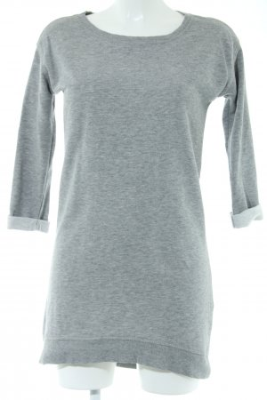 Vero Moda Robe pull gris clair moucheté style décontracté