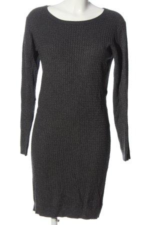 Vero Moda Swetrowa sukienka jasnoszary W stylu casual