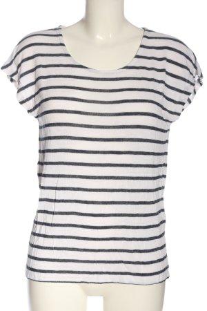 Vero Moda Stripe Shirt white-black striped pattern casual look