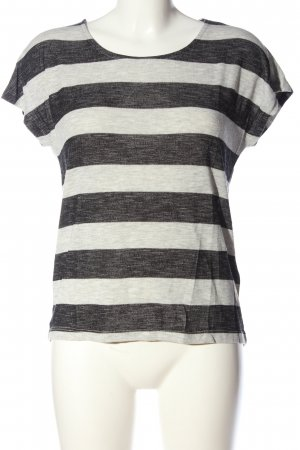 Vero Moda Stripe Shirt white-light grey flecked casual look