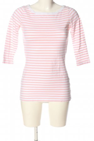 Vero Moda Stripe Shirt white-pink allover print casual look
