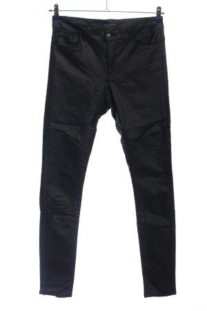 Vero Moda Röhrenhose schwarz Casual-Look