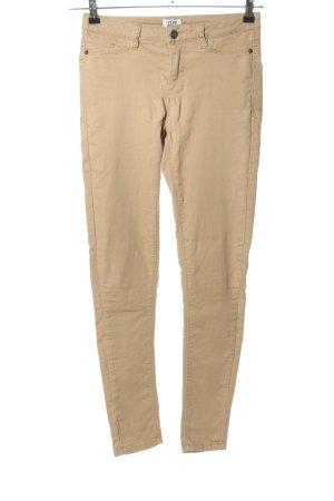 Vero Moda Drainpipe Trousers cream casual look