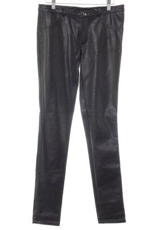 Vero Moda Drainpipe Trousers black rockabilly style