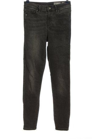 Vero Moda Jeans cigarette noir style décontracté