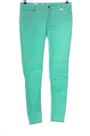 Vero Moda Jeans cigarette turquoise style décontracté