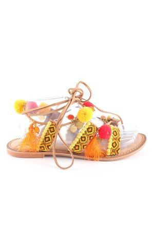 Vero Moda Sandalo romano motivo grafico stile casual