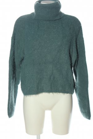 Vero Moda Rollkragenpullover grün Casual-Look