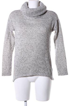 Vero Moda Maglione dolcevita grigio chiaro puntinato stile casual