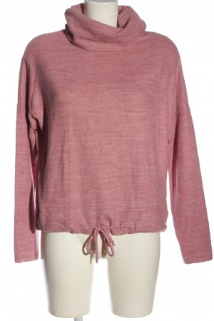 Vero Moda Strickpullover pink-creme meliert Casual-Look