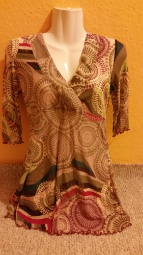 Vero Moda, romantische Tunika, Braun pink, Gr. M 38