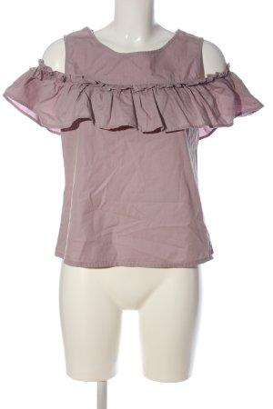 Vero Moda Rüschen-Bluse pink Casual-Look