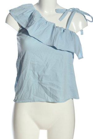 Vero Moda Ruffled Blouse blue elegant