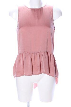 Vero Moda Rüschen-Bluse nude Casual-Look